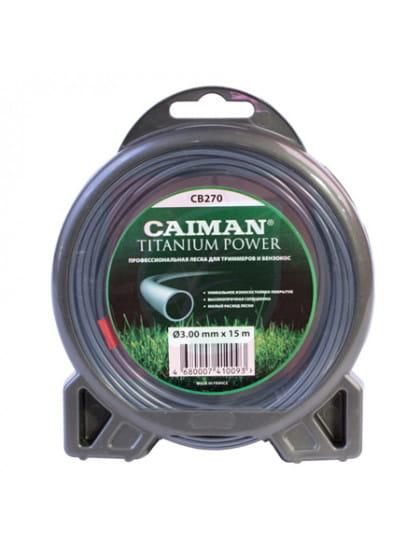 Леска триммерная Caiman Pro 3 мм 15м