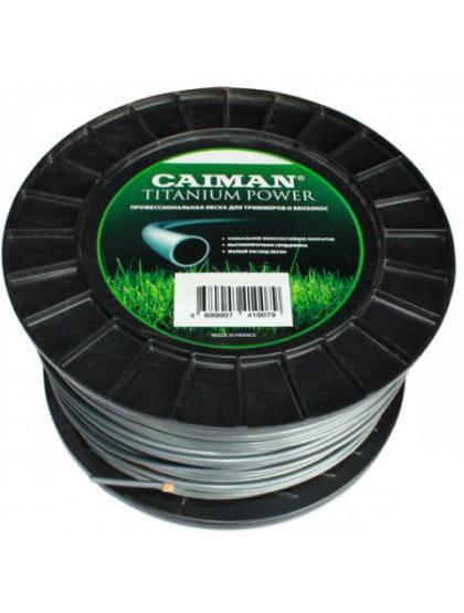 Леска триммерная Caiman Pro 3 мм 169 м