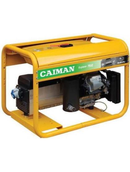 Бензиновый генератор Caiman Explorer 7510XL27 DE