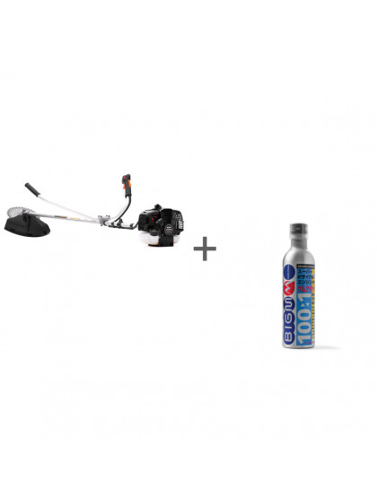 Бензокоса Caiman WX36 + масло для двухтактных двигателей Kemunaito 2T 1:100 0.3л в подарок!