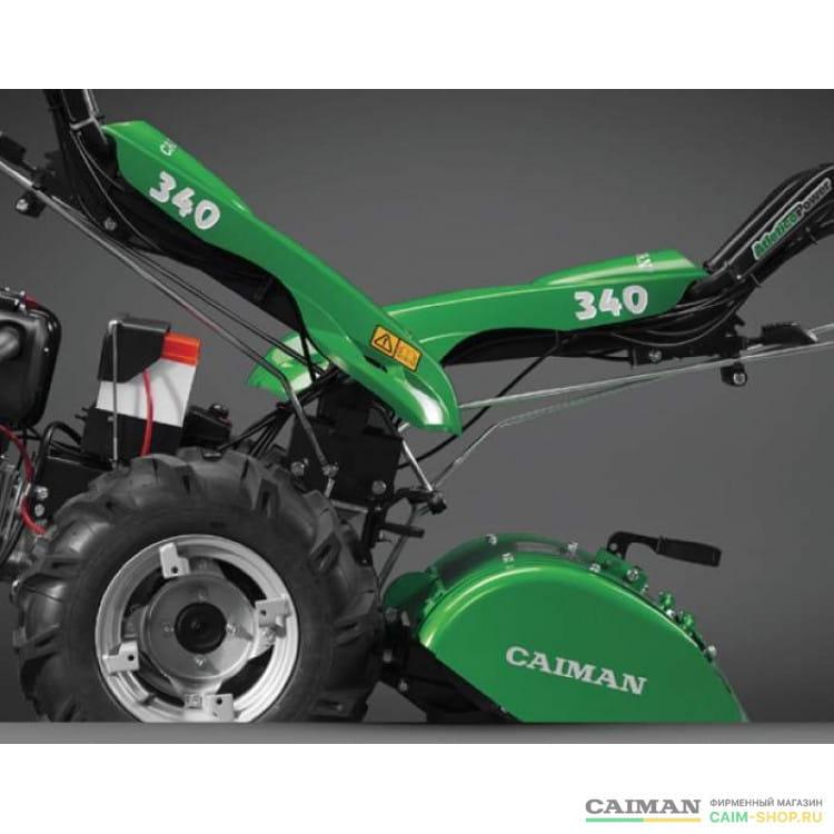 Трактор двухколесный с валом отбора мощности Caiman Atletico 340PD