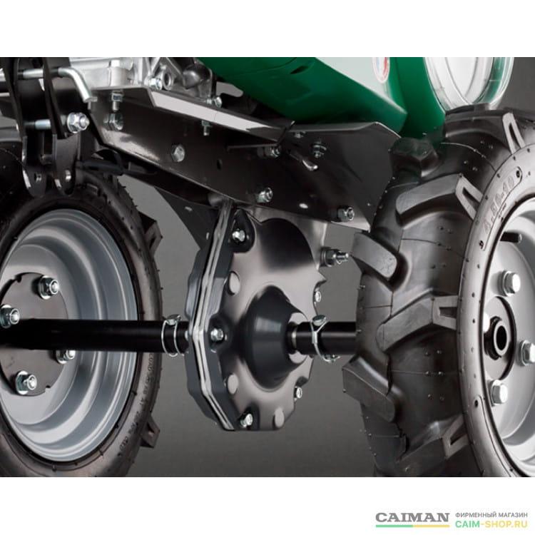 Мотоблок Caiman QUATRO MAX 60S Plow2 TWK+