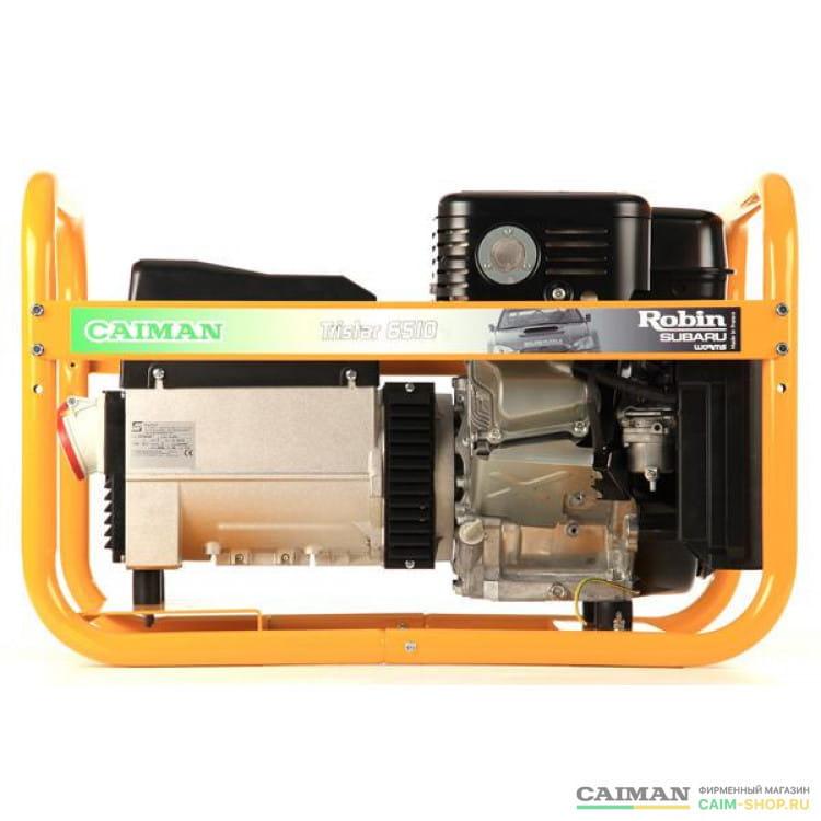 Бензиновый генератор Caiman Tristar 6510EX