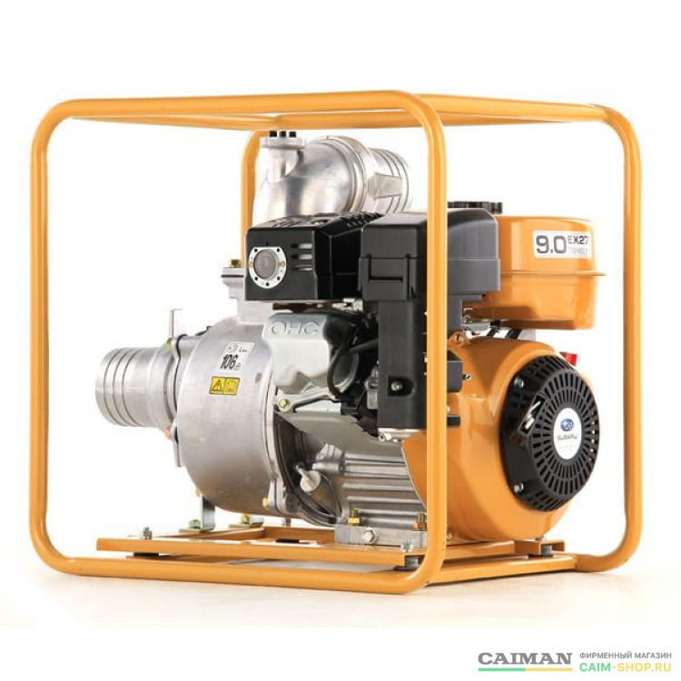 Бензиновая мотопомпа Caiman TP110EXL