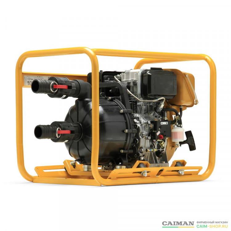 Бензиновая мотопомпа Caiman P52EX
