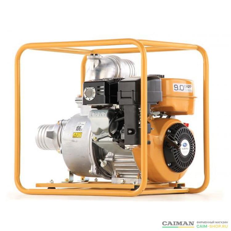 Бензиновая мотопомпа Caiman TP110EX