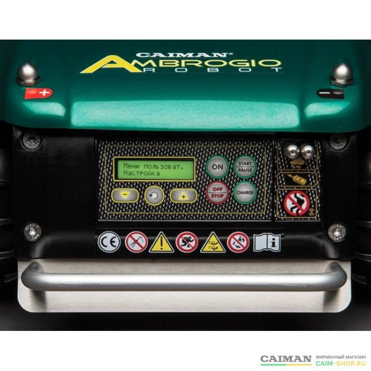 Робот-газонокосилка Caiman AMBROGIO L200 BASIC